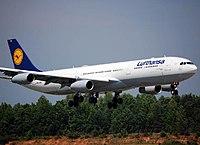D-AIGX - A340 - Lufthansa