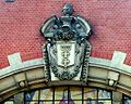COA of Gdańsk at Main Train Station.jpg