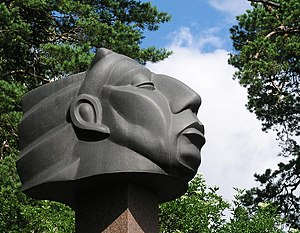 Carl Milles - Milles Indian head