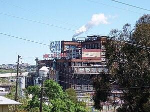 Crockett, California - C&H Pure Cane Sugar Refinery in Crockett