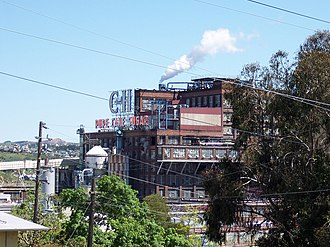 Crockett, California - C&H Pure Cane Sugar Refinery in Crockett