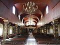 Cabiao Church ceiling and chandelier in Nueva Ecija.jpg