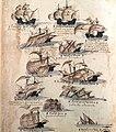 Cabral armada of 1500 (Livro das Armadas) (cropped).jpg