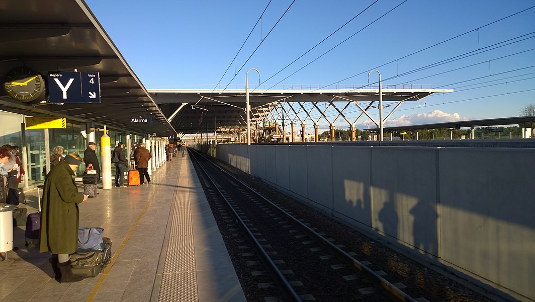 Gare d'Aix-en-Provence TGV.