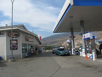 Cache Creek Chevron Station