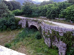 Via Flaminia - Mallio Bridge at Cagli