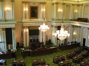 California State Capitol - Image: California State Assembly room p 1080879