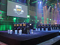 Call of Duty XP 2011 - MW3 challenge stage empty after the finalists have been chosen (6125258385).jpg