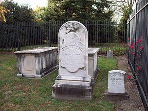 Rosalie Stier Calvert - Image: Calvert Cemetery Nov 2008
