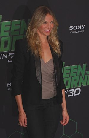 The Green Hornet (2011 film) - Cameron Diaz in Berlin, December 3, 2010