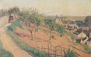 Ruelle de Poulies ar Pontoise