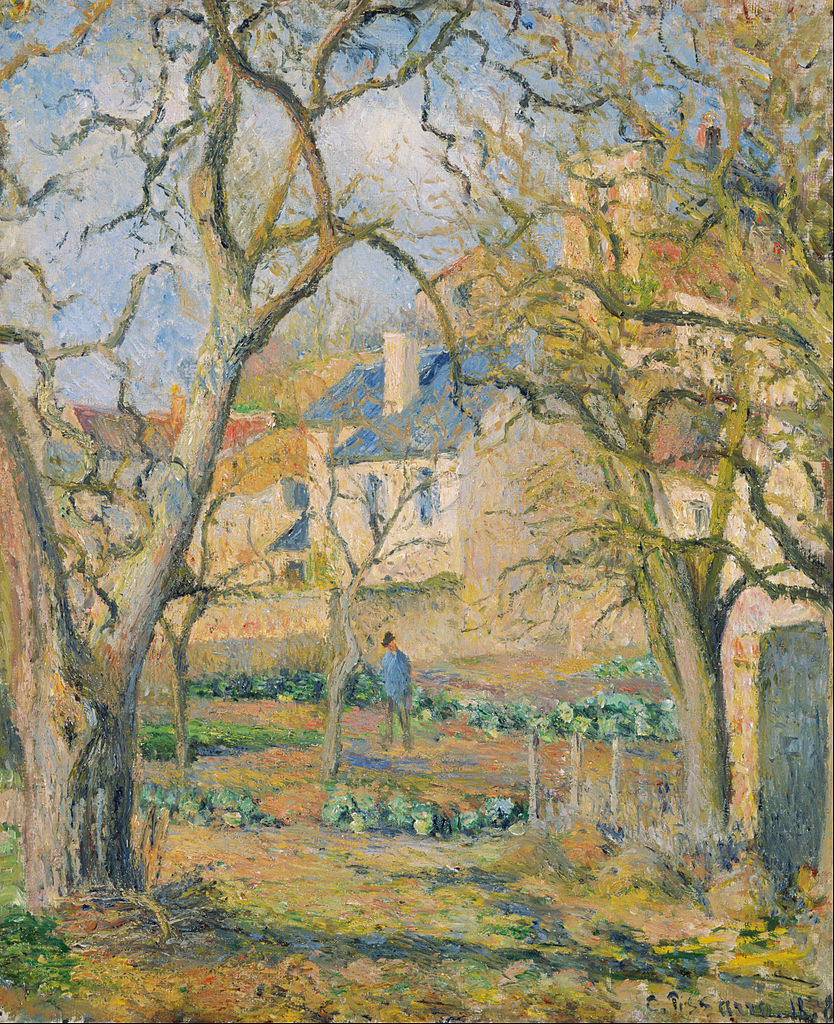 Vegetable garden art - File Camille Pissarro Vegetable Garden Google Art Project Jpg