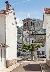 Campanario da igrexa. Villamanín de la Tercia León-01.jpg