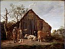 Camphuysen, Govaert - Two Peasants with Cows - Google Art Project.jpg