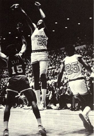 Campy Russell - Russell from the 1973 Michiganensian