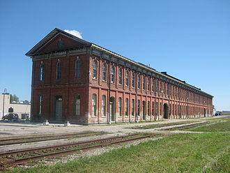 Canada Southern Railway Station - Southwest corner of the station