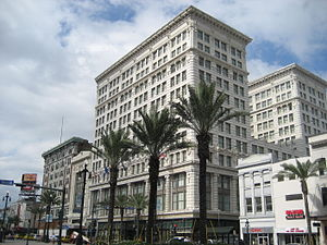 Maison Blanche - The Maison Blanche Building on Canal Street