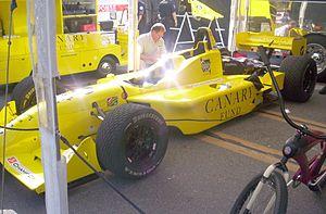 San Jose Grand Prix - The Canary Fund sponsored Champ Car at the 2005 Taylor Woodrow San Jose Grand Prix