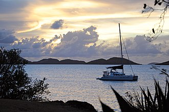 Caneel Bay - Image: Caneel Bay Sunset by Cottage 7