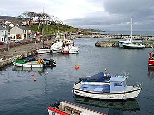 Carnlough - Image: Canlough 1