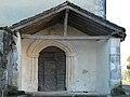 Cantillac église porche.JPG
