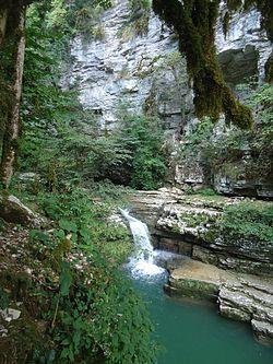 Каньон реки Кудепста