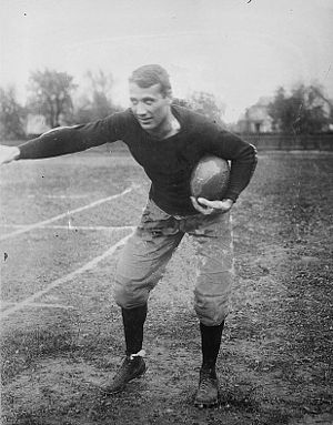 Alfred L. Buser - Buser in 1911 as Wisconsin team captain