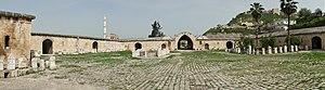 Caravanserai - Caravanserai of Qalaat al-Madiq, in northern Syria