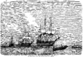 Carl Frederik Sørensen - Den svensk-norske eskadre ved Elfsborg - 1861.png