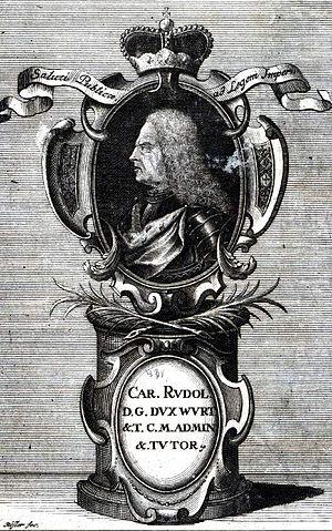 Carl Rudolf, Duke of Württemberg-Neuenstadt - Carl Rudolf