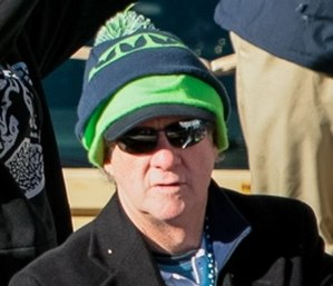 Carl Smith (American football) - Smith at Seahawks' Super Bowl XLVIII parade in 2014