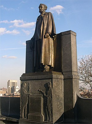 Morningside Drive (Manhattan) - Carl Schurz statue on Morningside Drive.