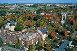 Carleton College - Image: Carleton College Aerial