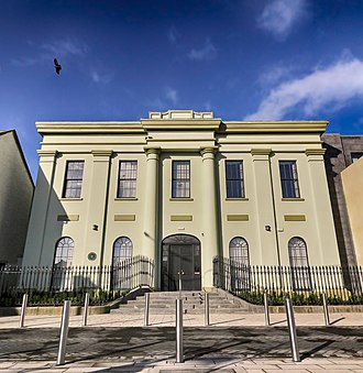 Carrick-on-Suir - Town Hall, built in 1840.