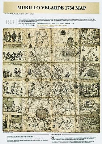 Carta Hydrographica y Chorographica de las Islas Filipinas - Image: Carta Hydrographica y Chorographica de las Yslas Filipinas