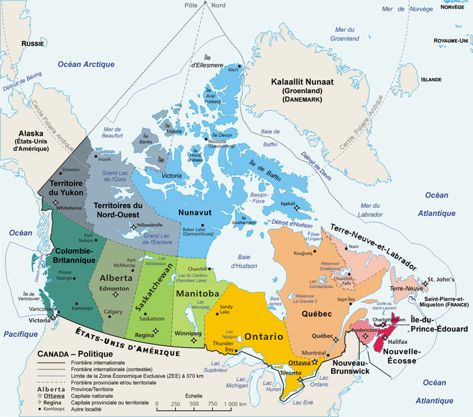 Fichier:Carte administrative du Canada.png