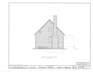 Cascine, State Route 1702, Louisburg, Franklin County, NC HABS NC,35-LOUBU.V,1- (sheet 7 of 12).png