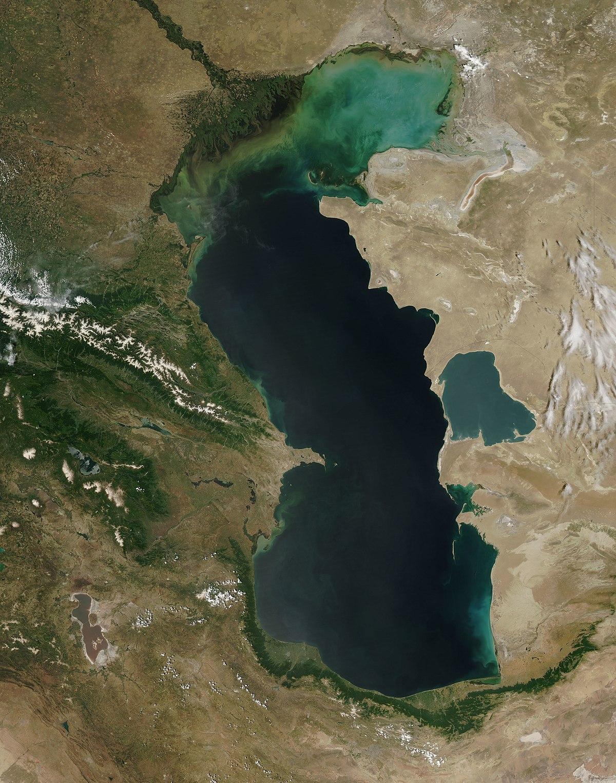 Caspian Sea  Wikipedia