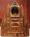 Cassa di orologio a forma di cattedrale, wisconsin (forse), 1935.jpg