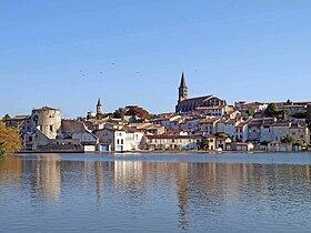 Le bassin du canal du Midi à Castelnaudary