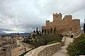 Castillo de Villena vista SE.JPG
