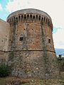 Castrovillari Castello Aragonese la famigerata Torre Infame.JPG