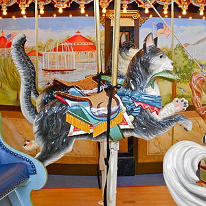 Please Touch Museum - Image: Cat fish Carousel Philly