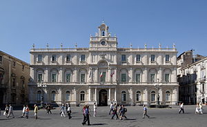 University of Catania - The Palazzo dell'Università, seat of the University.