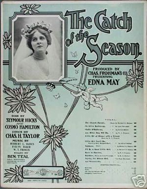 The Catch of the Season - Sheet music from the Broadway production