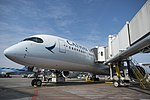 Cathay Pacific inaugural flight 25 March (40984247072).jpg