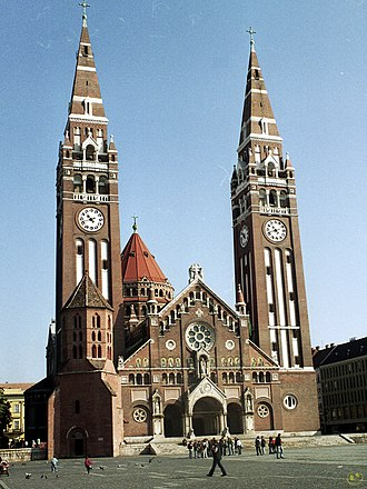 Roman Catholic Diocese of Szeged–Csanád - The Cathedral of Our Lady of the Hungarians Szeged