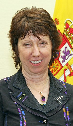 Catherine Ashton, British politician