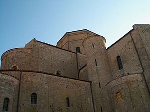 Acerenza Cathedral - The eastern part of the cathedral