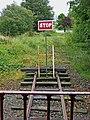 Cavan ^ Leitrim Railway - the end of the line, near Dromod-Dromad - geograph.org.uk - 2070170.jpg